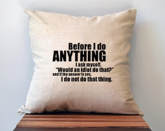The Office Pillow Cover, Dwight Schrute Quote Pillow Cover,  18 x 18 Pillow Cover, The Office Christmas Gift, Graduation gift