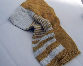 Baby trousers, trousers, knitted trousers, curry, alpaca, combination mode, boy, girl, panties
