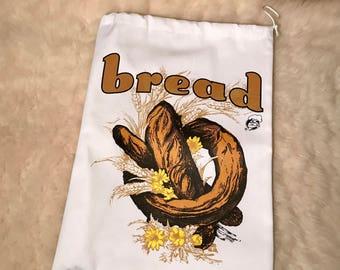 Canvas bread bag