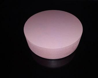 "Styrofoam Disc, disco de espuma, party supplies, Foam disc Base, art supplies, Styrofoam disc Base 3D 8"", baby shower decor,Party decor"