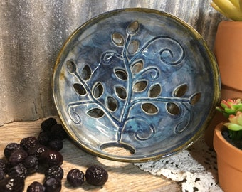 Handcrafted Berry Bowl