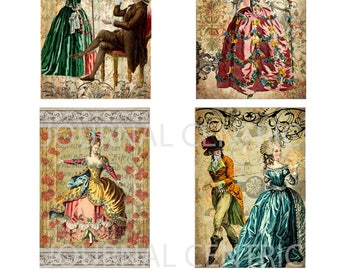 French Rococo Digital Journal Add-On Kit
