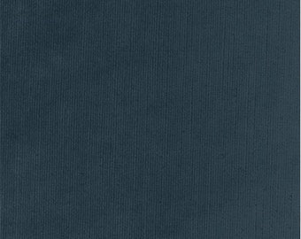 Sloane Ribbed Chenille Spruce Blue Home Decorating Fabric, Fabric By The Yard