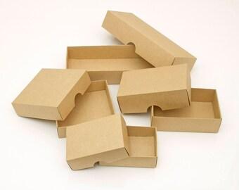 10Pcs Kraft paper packaging box, Gift Boxes, Paper box, Wedding Gift Box