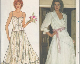 Butterick 4672 Sewing Pattern, Misses' Camisole, Skirt, & Jacket by Aileen West for Queen Anne's Lace, Size Petite, Uncut