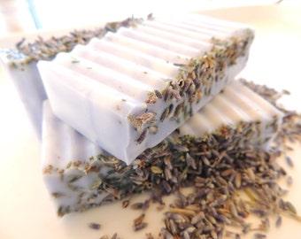 LAVENDER SOAP, For the Lavender Lover - Scented in French Lavender Essence Oil, Vegan Friendly, Handmade