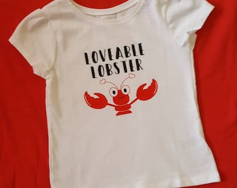 Loveable Lobster/ Valentines Day/Ladies Man/Mama's Boy