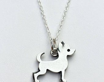 Chihuahua Charm Necklace