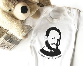 Dads First Christmas Gift | Gift for Dad from Baby | Personalised Photo Bodysuit | Gift from Daughter | Gift from Son | Christmas Gift