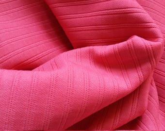 Vintage Crimplene fabric 1960s