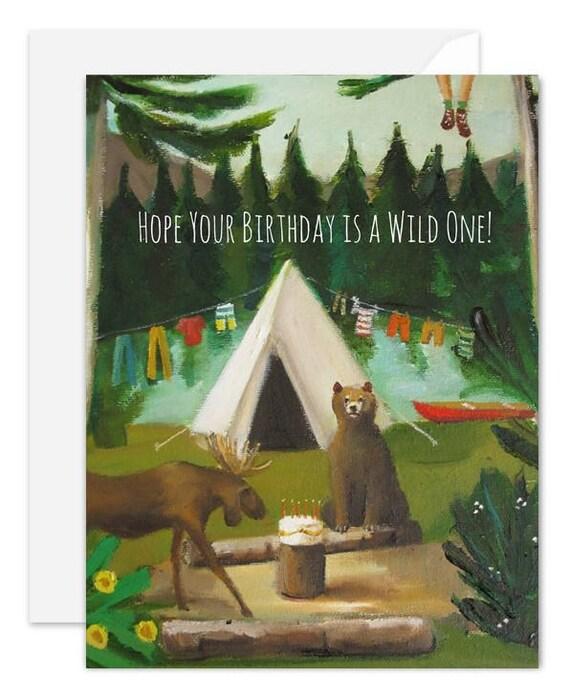 Wild Birthday Card. SKU JH1142