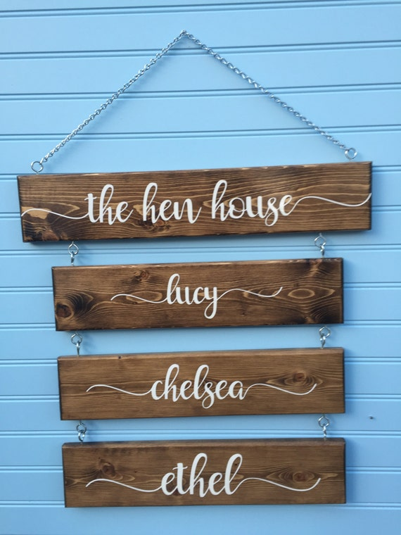 Superb Hen House   Chicken Signs For Coop   Chicken Sign   Coop Decor   Indoor Or  Outdoor   Rustic   Backyard Chickens   Chicken Decor