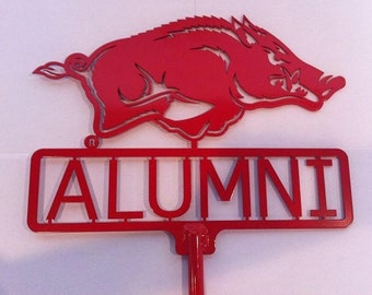 "Razorback ""Alumni"" Yard Sign"