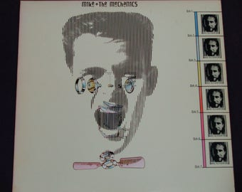 """Mike and The Mechanics - """"All I Need Is a Miracle"""" - Pop Rock - Atlantic Records 1985 - Vintage Vinyl LP Record Album"""