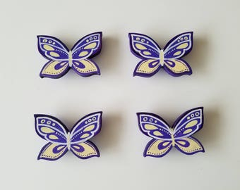 Handle pull for kids - Butterflies, for all kind of furniture, cute, creative, handmade, cnob for all kind of furniture.