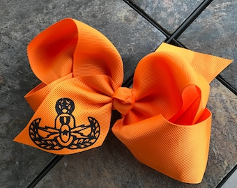 Explosive Ordnance Disposal EOD Girl Hairbow Gift Daughter