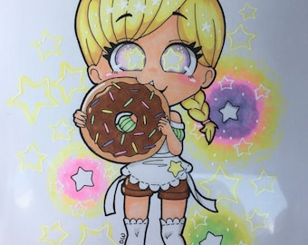 Starry-Eyed for Donuts
