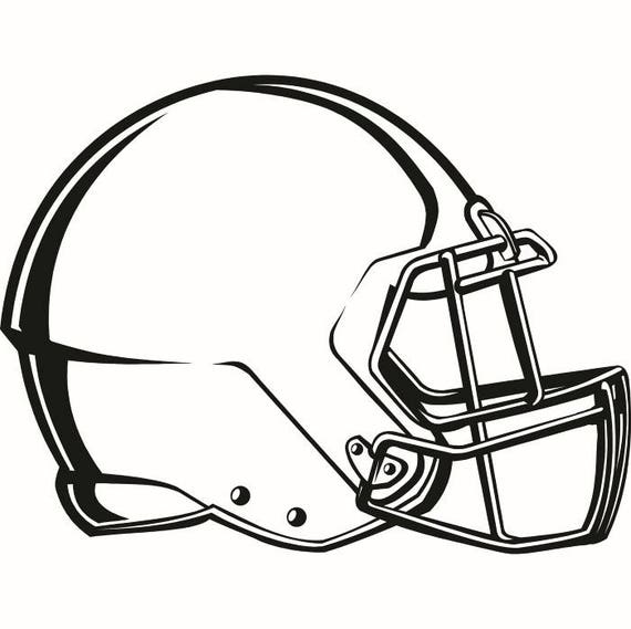 Football helmet 3 equipment sports stadium field school team