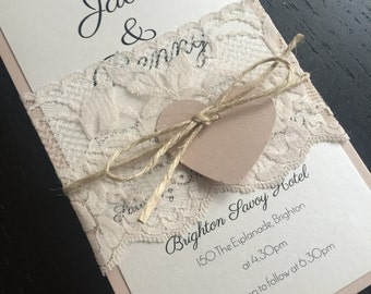 Sweet Soirée Wedding Invitation