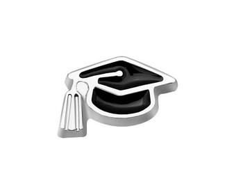 Graduation Cap Floating Charm