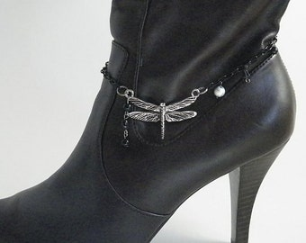Boot Bracelet, Firefly Charm Bracelet, Adjustable, for Cowgirl or Dress Boots
