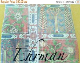 "On Sale Ehrman Needlepoint Kit, ""Oxiana"", Needlepoint Pillow Kit, David Merry Tapestry Pillow Kit, 16"" x 10"", Ehrman Wool Yarns, NEW SEALED"