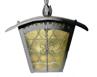 Old Italian  lantern light, lanterna per esterno