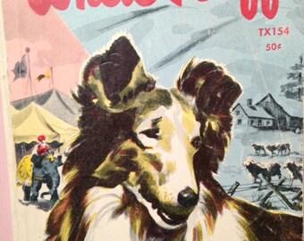 White Ruff, vintage children's book, 1962