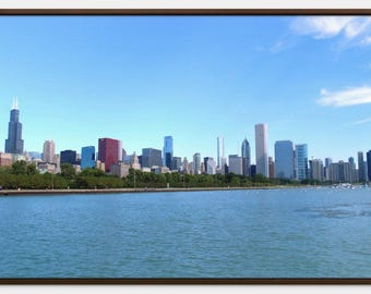The Chicago Skyline - Canvas Print