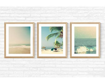 Extra large wall art, beach print, wall art canvas, beach prints, large canvas art, beach wall art, framed wall art, beach umbrella, gallery