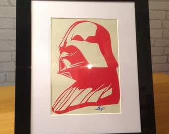 Darth Vader - Star Wars Paper Cut