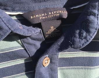 Men Banana Republic short sleeve polo shirt