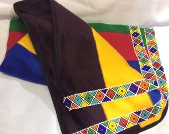Ndebele Beaded Traditiona Blanket
