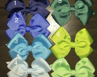 Baby bows, toddler bows, girls bows