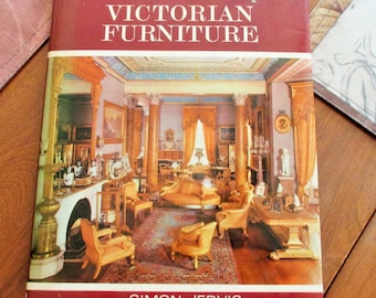 Victorian furniture by Simon Jervis--1968--h/c/d/j--illustrated--a great reference book