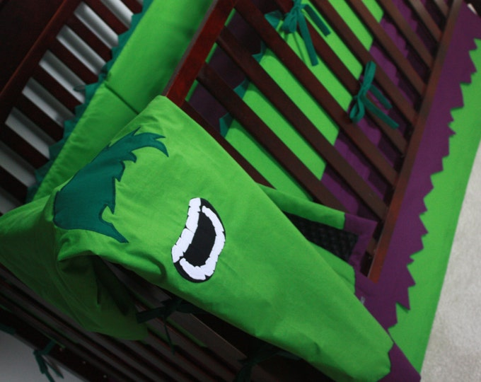 Superhero Baby Bedding--The Hulk--Build Your Own Custom Crib Bedding-MTO