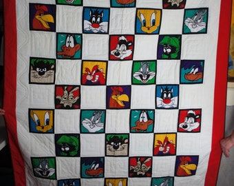 Warner Bros. - All Cartoon Characters -  Acme Home Works Quilt