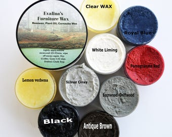 Natural Wax 13 Chalk Paint Furniture Wax Colors Furniture White Liming Wax Antiquing Wax Brown/Black Scented Furniture Paste Wax wood Sealer