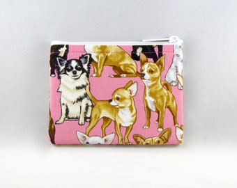 Chihuahuas Coin Purse - Coin Bag - Pouch - Accessory - Gift Card Holder