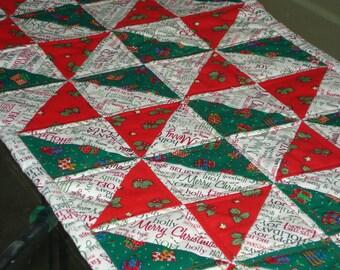 Christmas Patchwork Table Runner