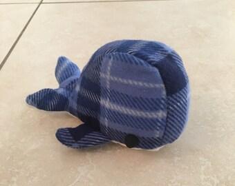 Cute, Mini, Hand-Made, Stuffed Animal Whale