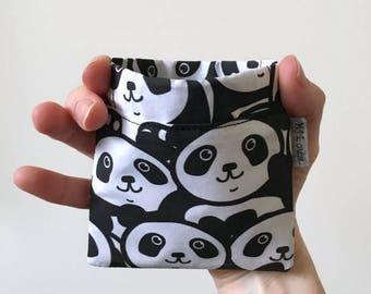 small coin purse retro etui squeeze pouch coin wallet squeeze wallet squeeze purse pocket money panda boho pinch purse pouch byMlous