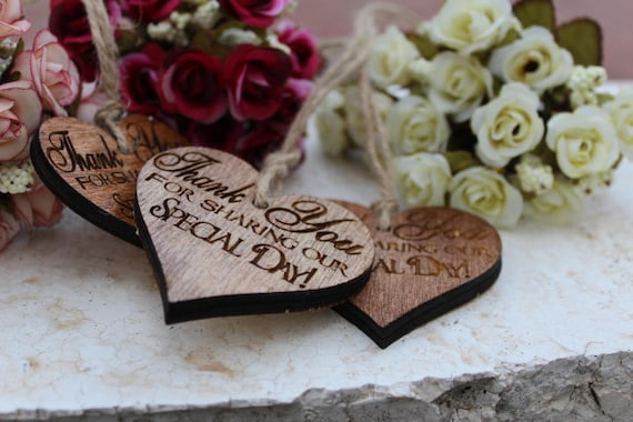 Personalized wedding favorsRustic wedding favorsWood