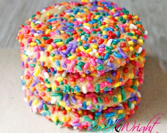 Birthday Party Cookie. All-natural baked goods. Home-style. Dozen cookies.