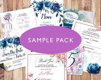 Sample Pack Floral Designs