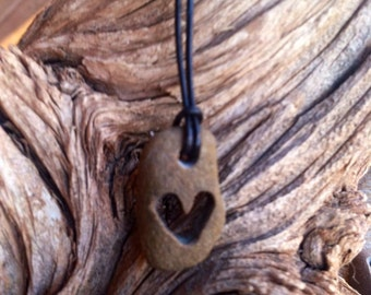 Heart Stone Necklace
