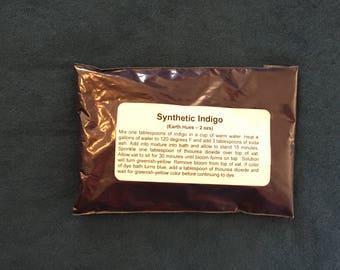 Synthetic Indigo Dye