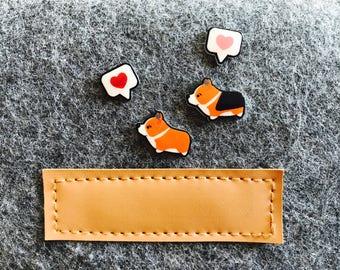 Corgi Mini-Pin Set #1 - 2 Options