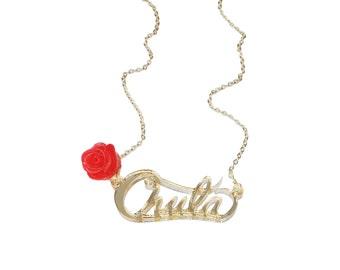 Chula Rose Necklace