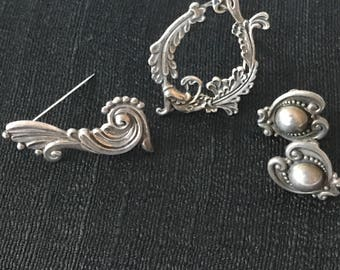 Margot de Taxco, Sterling silver Grouping